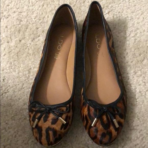 aldo cheetah print shoes